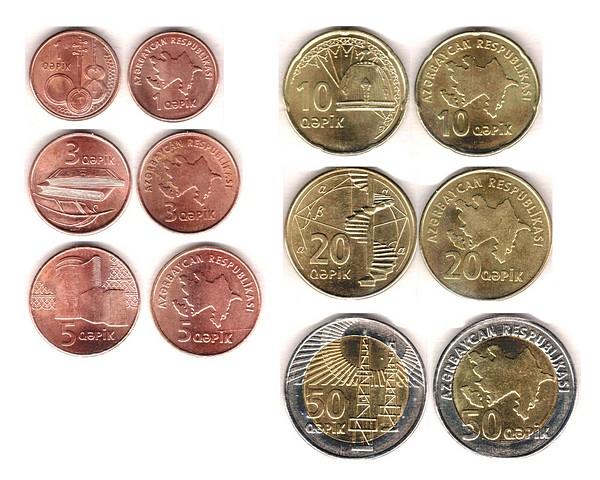 Все азербайджанские монеты