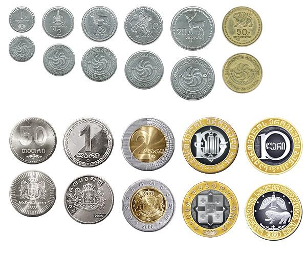 Изображения грузинских монет