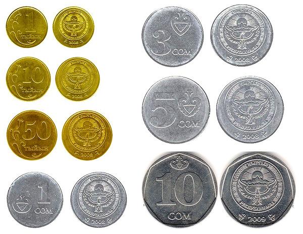 Все киргизские монеты